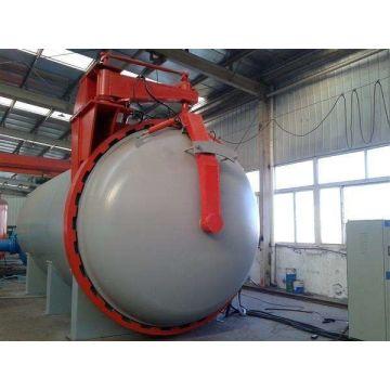Autoclave de vulcanização de borracha ASME