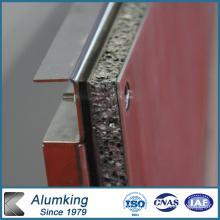 Mousse d'aluminium pour la maison légère
