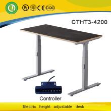 Stehtisch Elektroarbeitsplatz mit motorisierter höhenverstellbarer Tischplatte