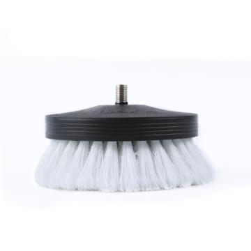Pneumatic leather&vinyl interior scrub brush