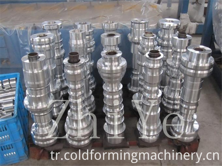 Steel Deck Profile Roll Forming Machine