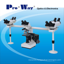 Professional Muti-Viewing Biological Microscope with Five Viewing Heads (XSZ-PW510)