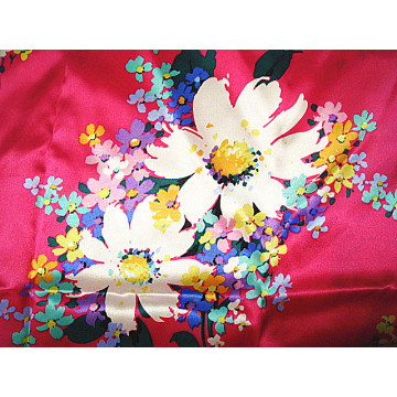 Drucken Su Crepe Satin Plain Silk Fabric
