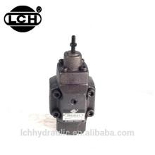 válvula redutora de pressão do controle hidráulico do caminhão basculante com calibre
