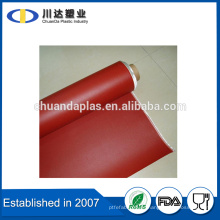 El más profesional de fibra de vidrio E Tela recubierta de caucho de silicona en ambos lados