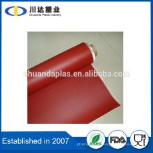 Le tissu de fibre de verre le plus professionnel E revêtu de caoutchouc de silicone des deux côtés