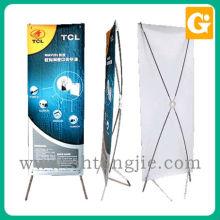 Impressão digital tamanho padrão flexível x banner stand