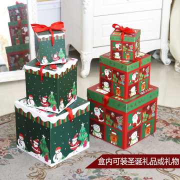 ribbon tie foldable gift package Christmas Box
