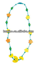 New fashion star moon cute children necklace cheap kids jewelry