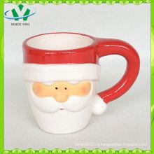 2014 Китай Рекламные оптовые керамические кружки Рождественский кубок
