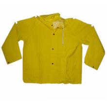 Yellow Industry Traffic PVC Rain Coat (JMC-412J)