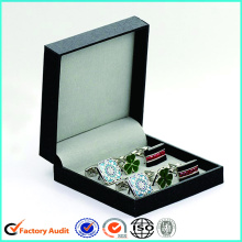 Nuevo Diseño Flip Top Cufflinks Packaging Box