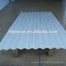 Folha de telhado ondulado prepainted