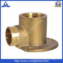 Conexão de bocal de bronze com areia ardida (YD-6022)