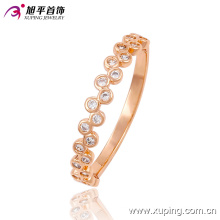 Hot-Sale Fashion CZ Rose Gold Imitation Jewelry Finger Ring 13506