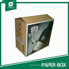 Сверхмощный Рифленый Вино Упаковка Коробка