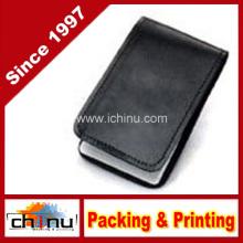 Cuero de bolsillo 3X5 Memo Book Cover titular del bloc de notas - Plain (520093)