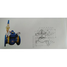 Differential pressure bypass balancing valve sk800X