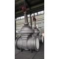 Válvula de compuerta de acero fundido API 600