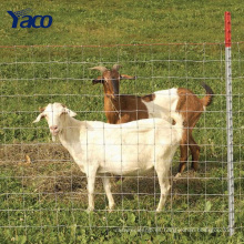 2.5mm 3mm alambre tejido Cercado de cabra de cultivo de rancho cerca de la oferta utilizado ganado paneles