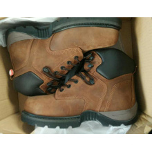 Genuine Leather Anti-smash pu Safety Shoes boots safety shoes