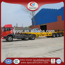 2015 China 40 ton container flatbed semi trailer