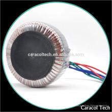 Kundenspezifischer niedriger Preis 230V zu 9V Spannungs-Ringkerntransformator für Stromversorgungen mit Rohs genehmigt