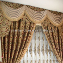 2015 china wholesale ready made curtain,luxury living room curtain