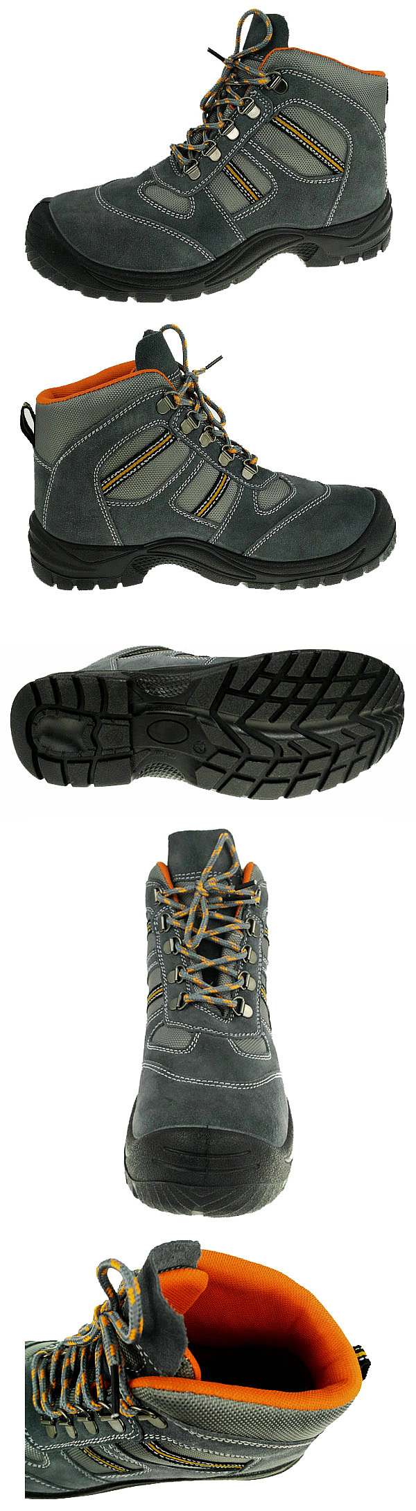 Steel Toe &Steel Midsole CE certificate Safety Shoes