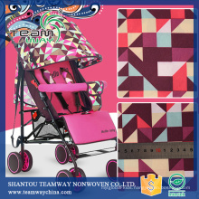 Polyester Oxford Printed Baby Stroller Fabrics