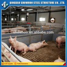 Vivienda prefabricada del marco del acero de la cubierta del bastidor del bajo costo para la venta