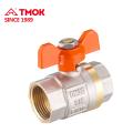 Robinet à boisseau sphérique manuel en laiton 15mm de haute qualité avec filetage intérieur en TMOK