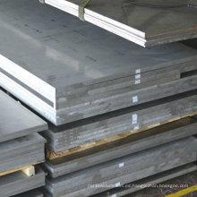 Placa de aleación de aluminio de pared gruesa 6061 T6