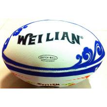 Vente en gros de balle de rugby / football gonflable en caoutchouc