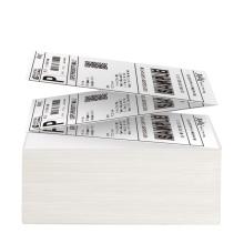 Compatível com impressora DYMO Rótulo de envio de postagem em fanfold