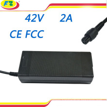 electric bike charger 42v 2a for 2 wheel hoverboard self balancing electric scooter