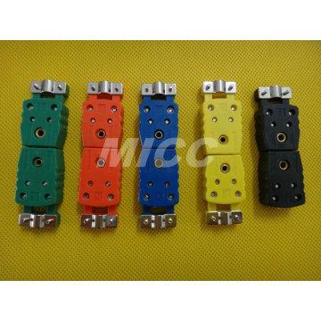 Conector de termopar MICC-MC (H) -K, J, N, S, T / conectores de termopar padrão / conector u