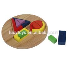 Дошкольная доска для сортировки деревянных форм