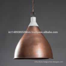 Industrial Vintage Copper Hanging Lamps