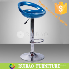 Novo design Cheap Usado Bar Stools Plastic ajustável Bar Stool ABS Bar Stool
