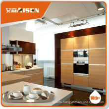 Satisfying service melamine kitchen cabinet