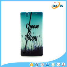 Cute Silicon TPU Back Skin Cover for Sony Mobile Phone