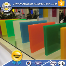 feuilles en plastique de plexiglass en gros de gros de 10mm en plastique d'impact