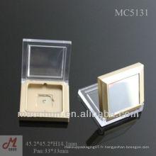 MC5131 carré carré petite étui à paupières avec miroir