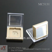 MC5131 square pan small eyeshadow case with mirror