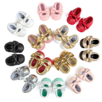 12 Color Baby Toddler Fashion Loafer Shoes Soft Sole Anti-Slip Moccasins
