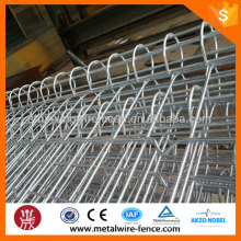 shengxin direct powder coated welded double circle garden fencing