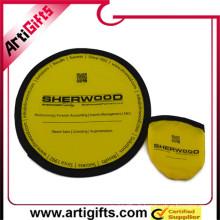 Wholesale produits promotionnels tissu pliable frisbee