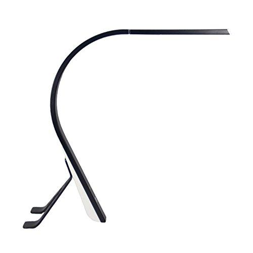 Swan Minimalist Metallic Desk Lamp