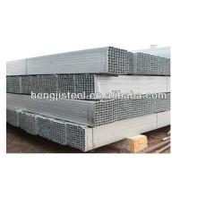 A500 erw tubo de acero cuadrado galvanizado / sección hueca del tubo